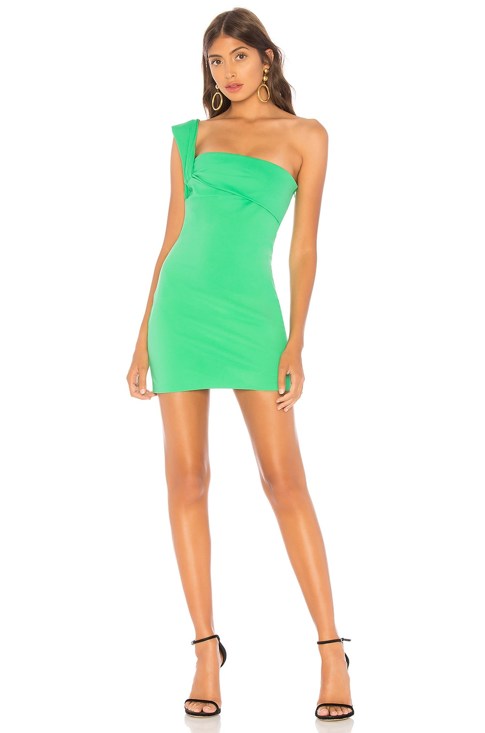 NBD Elon Mini Dress in Kelly Green