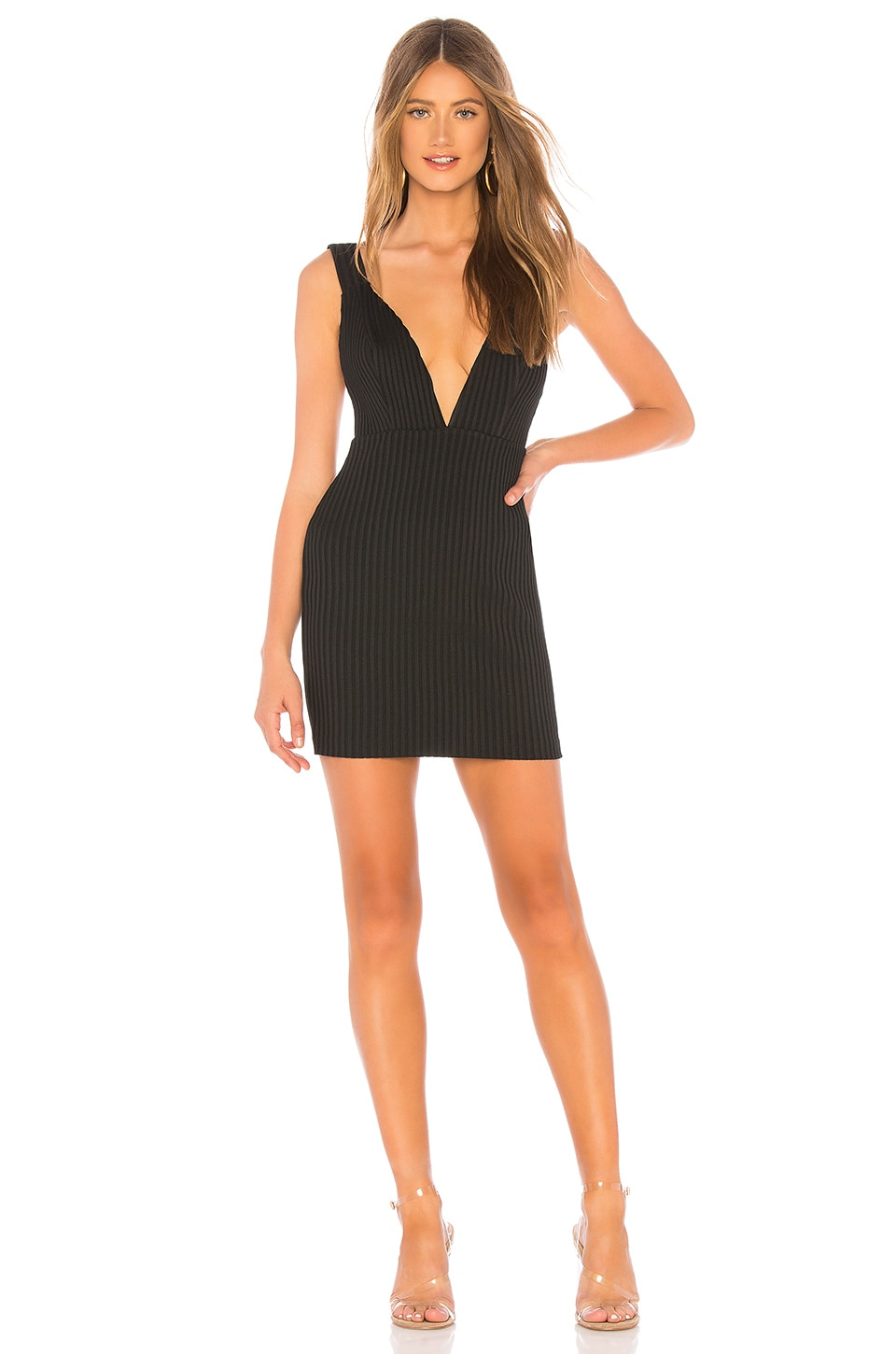 NBD Makena Mini Dress in Black