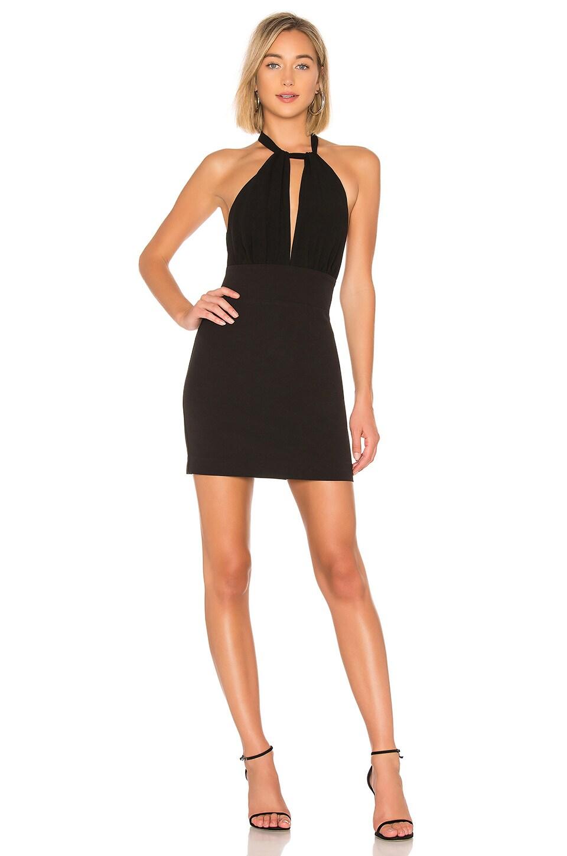 NBD Wells Mini Dress in Black