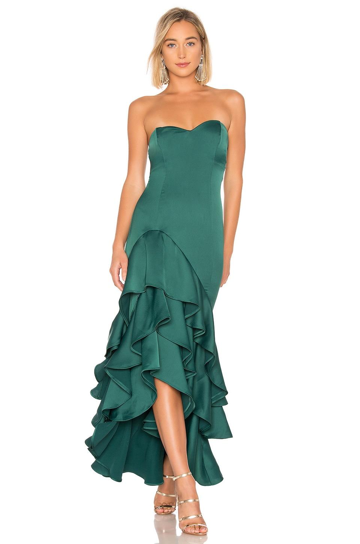 NBD Omar Gown in Emerald