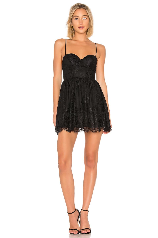 NBD Peter Mini Dress in Black