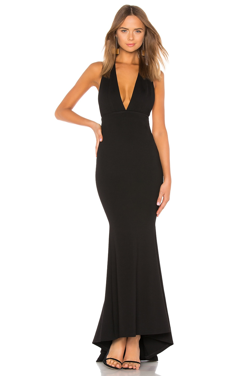 NBD Jenny From The Block Gown in Black