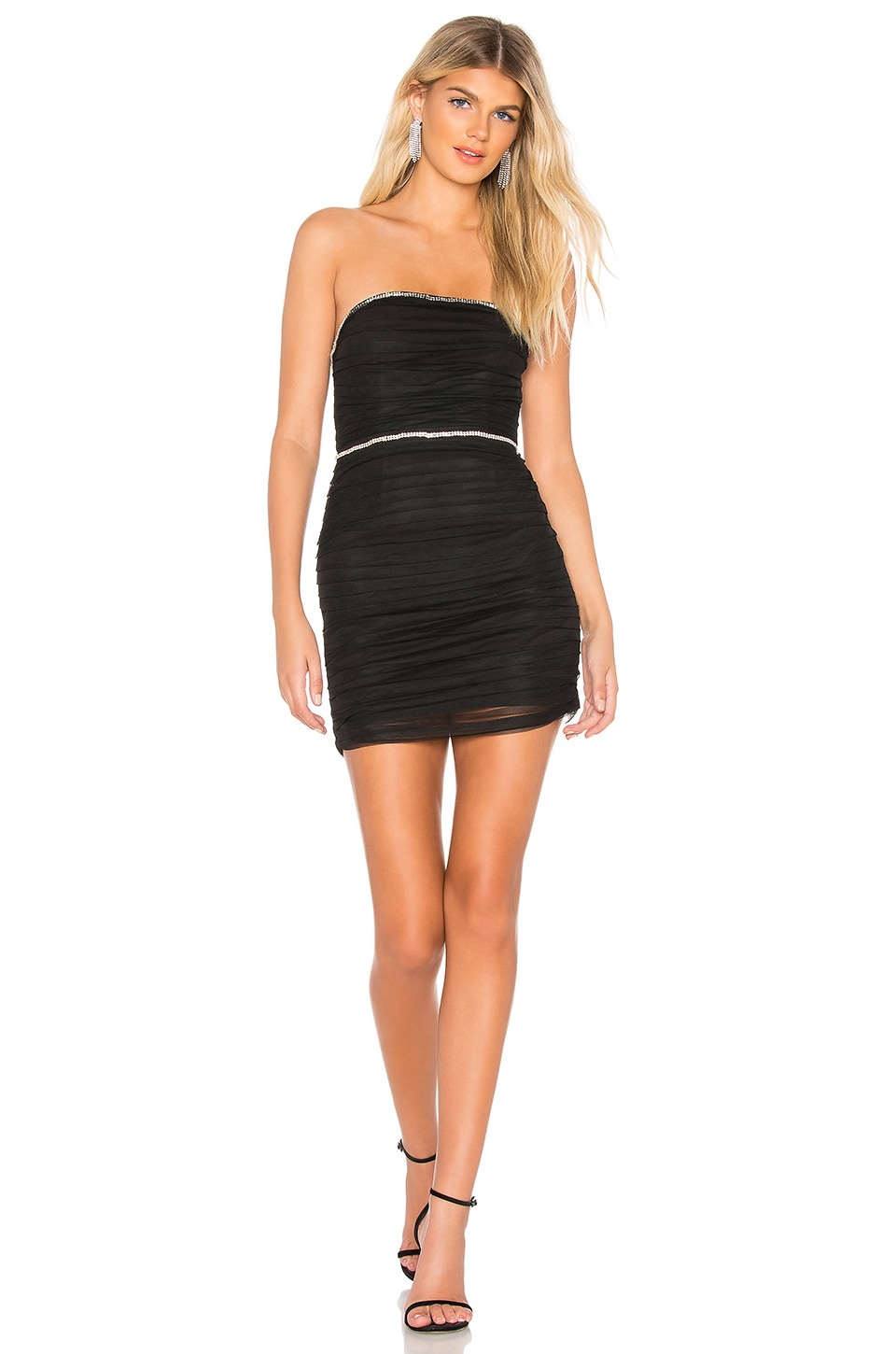 NBD Skyler Mini Dress in Black