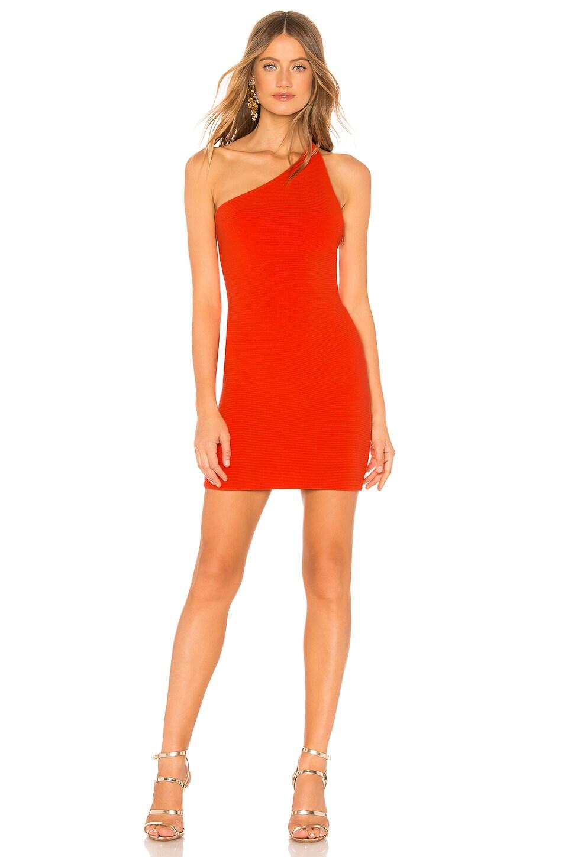 NBD Daxton Mini Dress in Bright Red