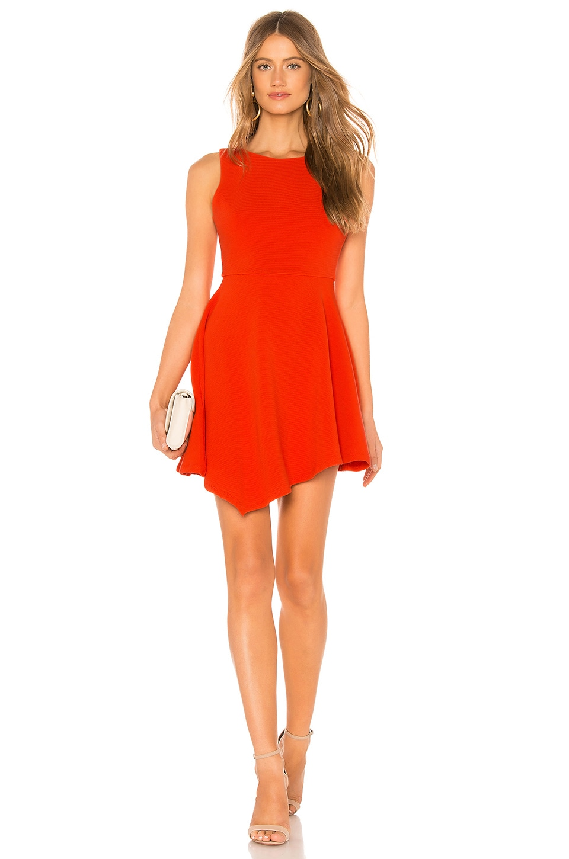 NBD Marlin Mini Dress in Bright Red