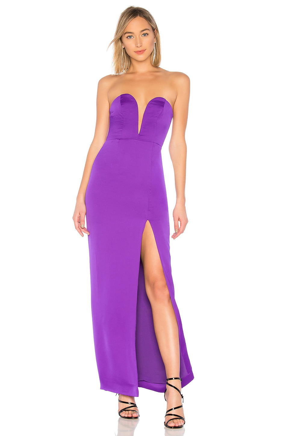 NBD Sawyer Gown in Ultra Violet