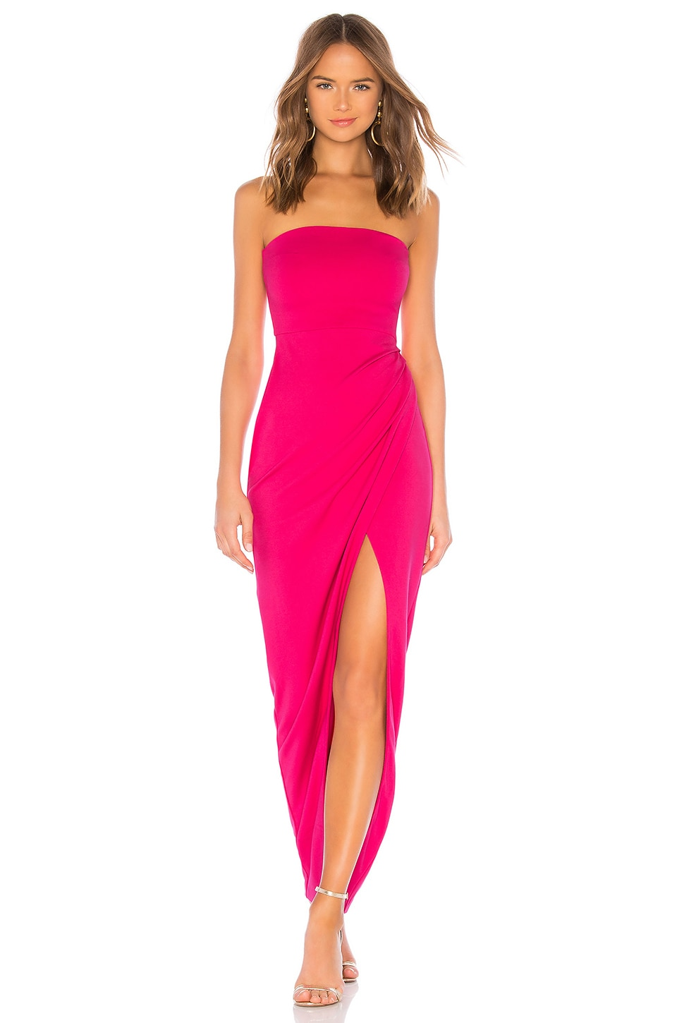 NBD Lucilda Gown in Hot Pink