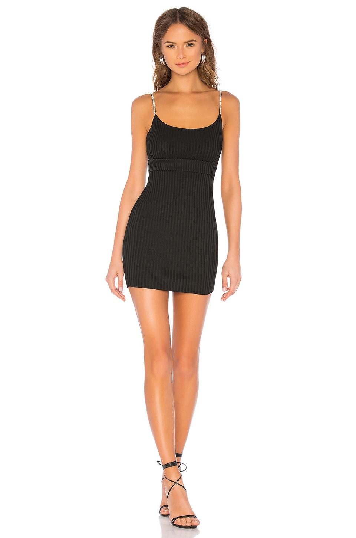 NBD Leon Mini Dress in Black