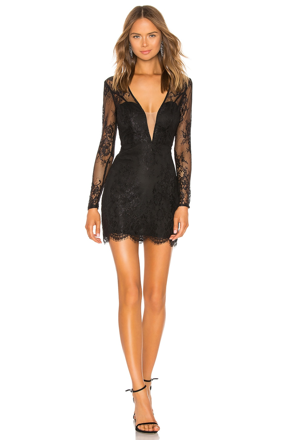 NBD Ceelo Mini Dress in Black