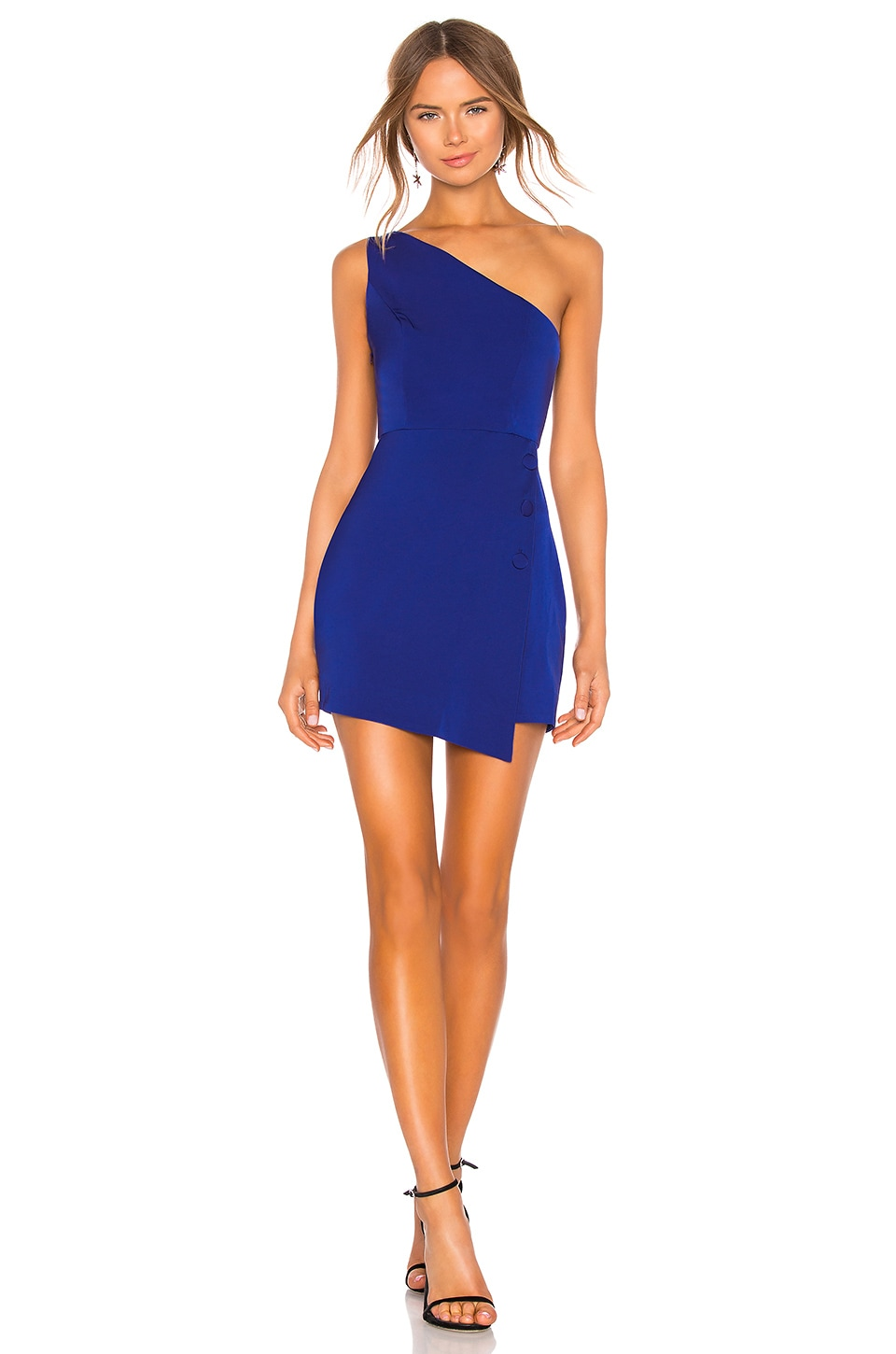 NBD Tere Mini Dress in Bright Cobalt