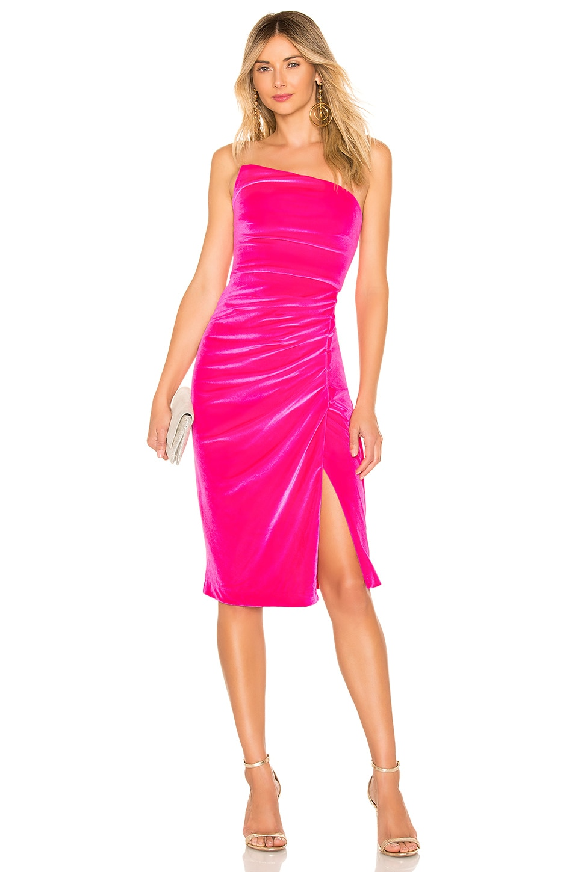 NBD Camden Dress in Magenta