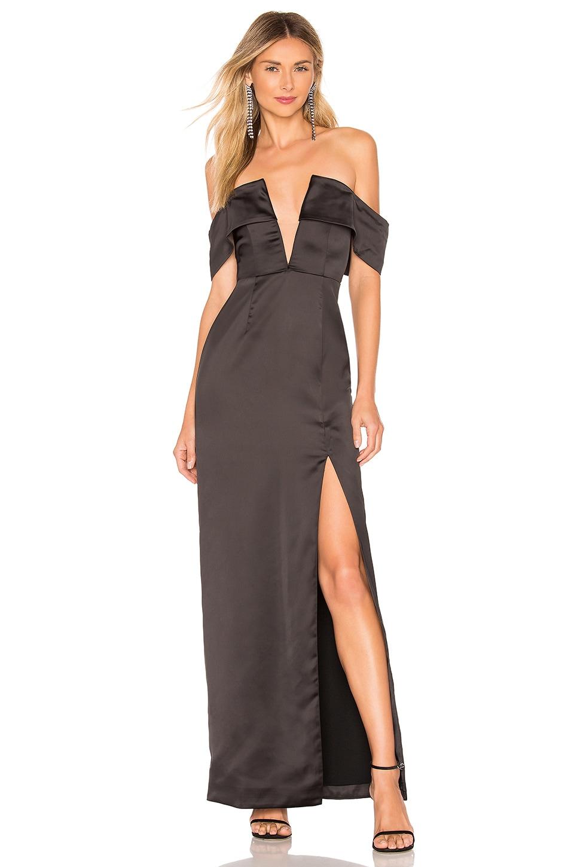NBD Muna Gown in Black
