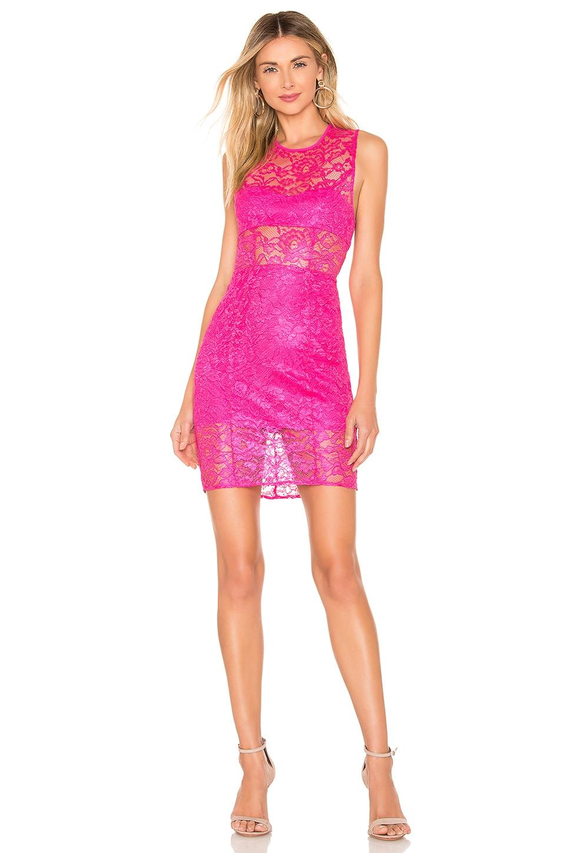 NBD x Naven Dahlia Dress in Pink Glo