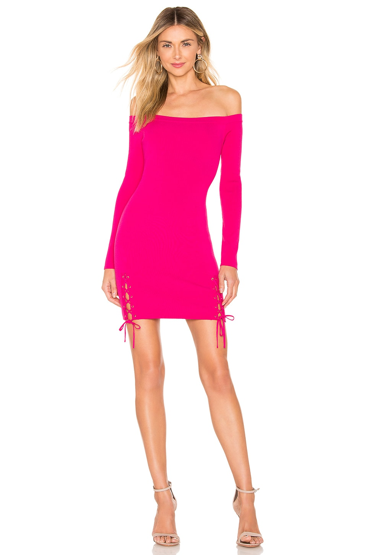 NBD x Naven April Dress in Pink Glo
