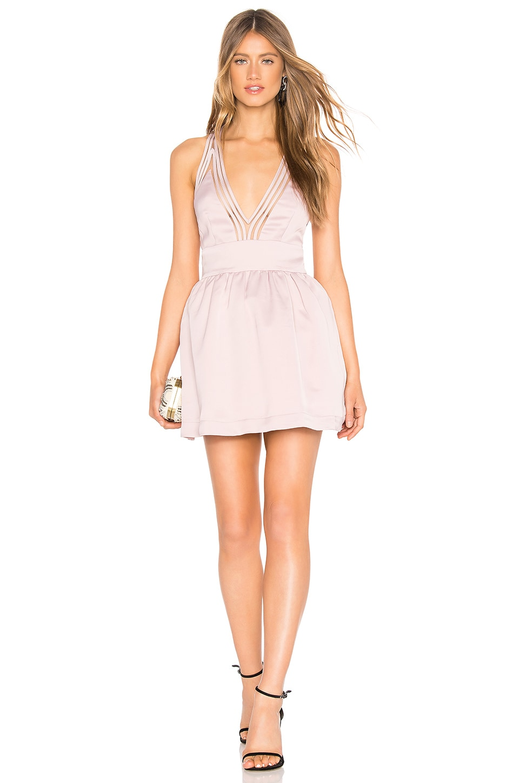 NBD Lucas Mini Dress in Mauve