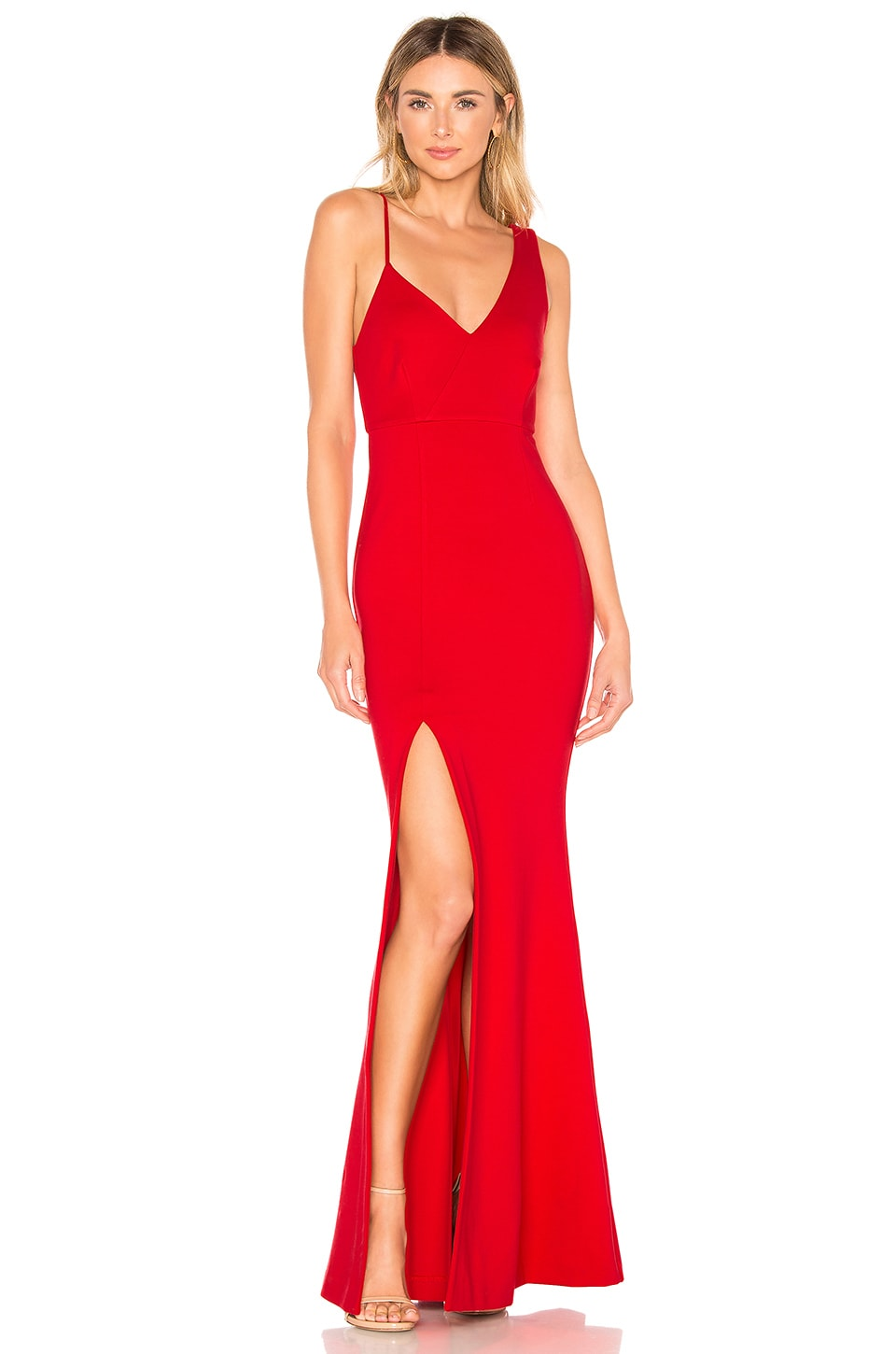 NBD Negroni Gown in Red