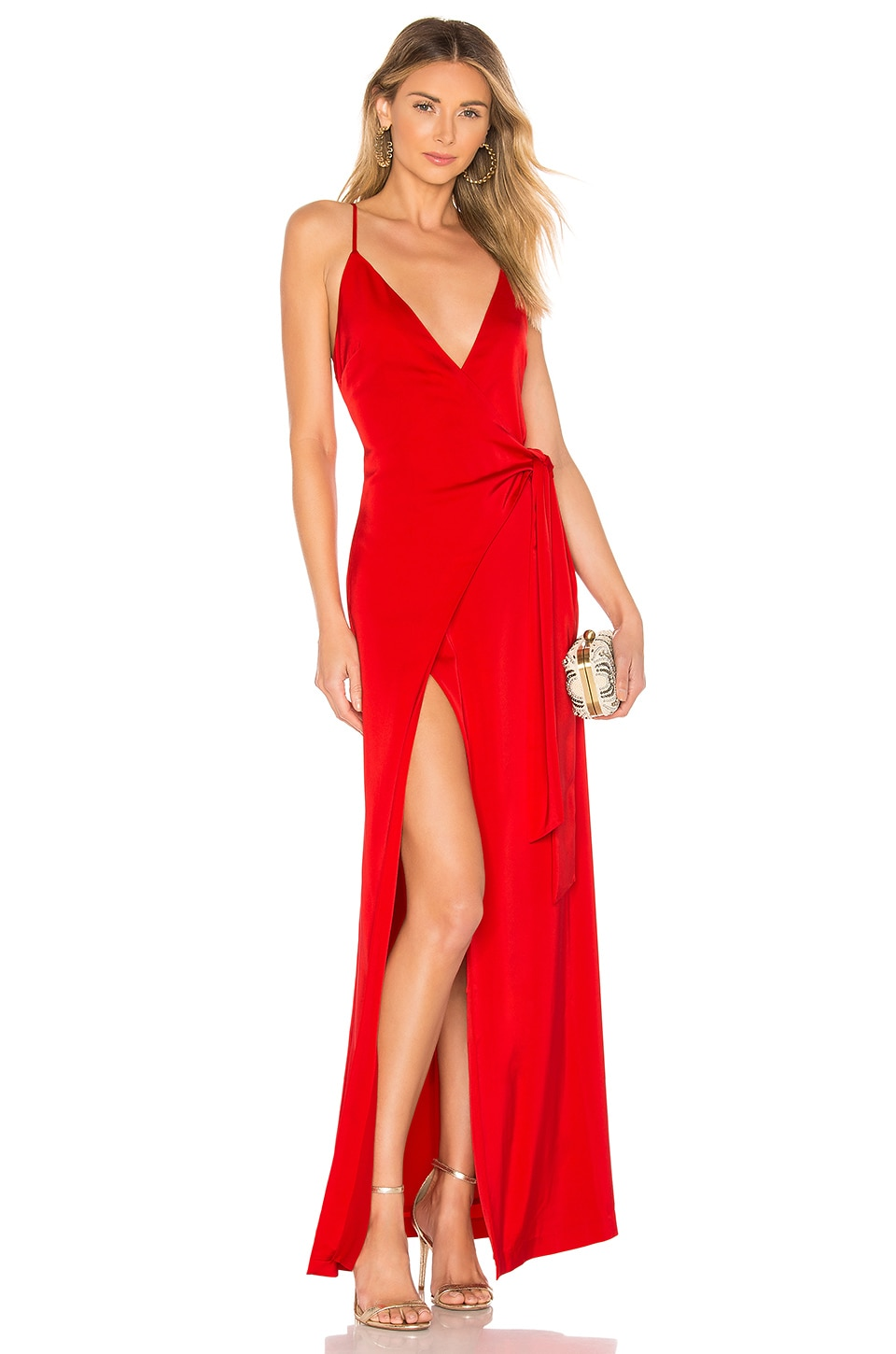 NBD Stewart Gown in Red
