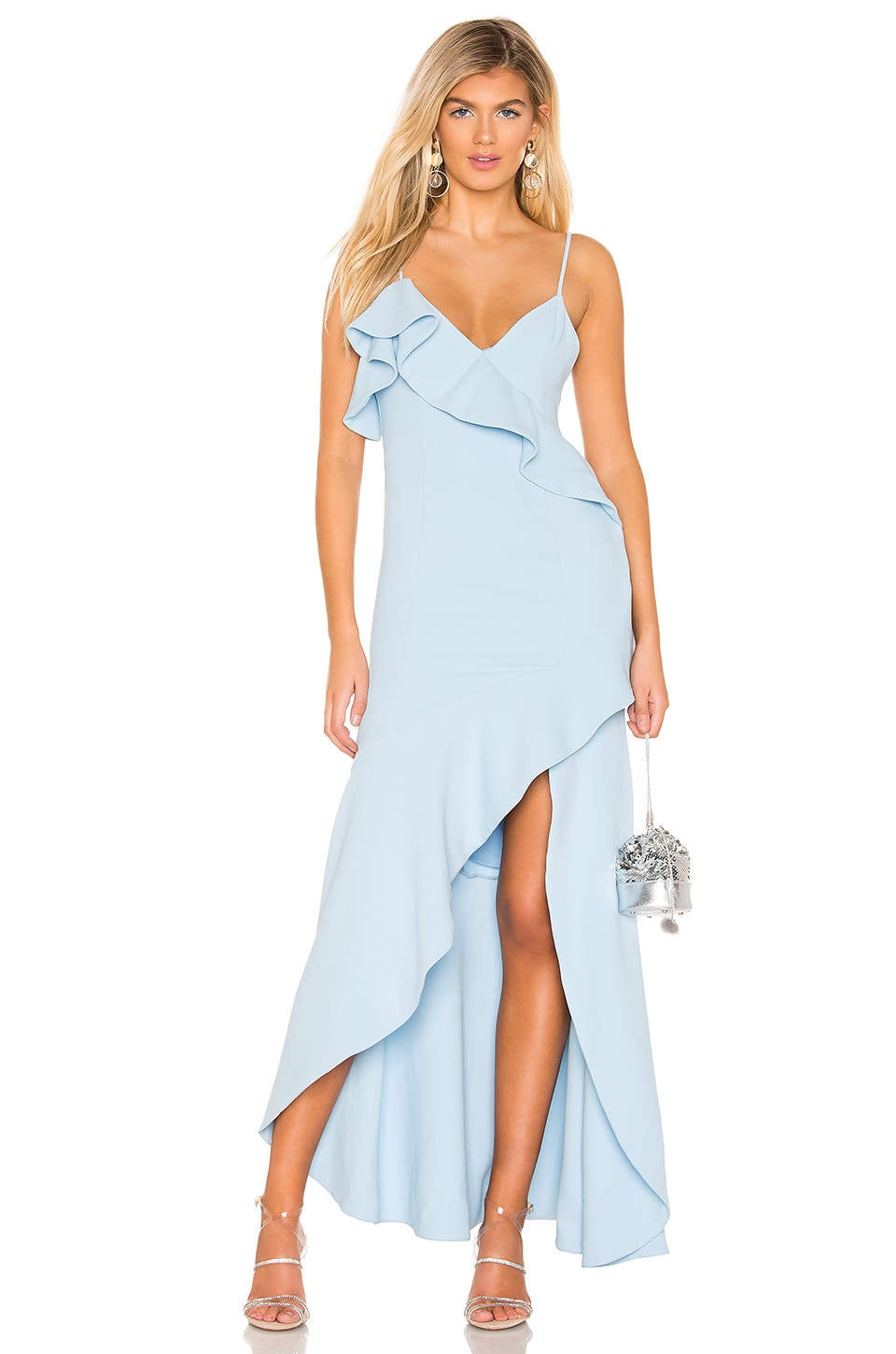 NBD Suter Gown in Baby Blue