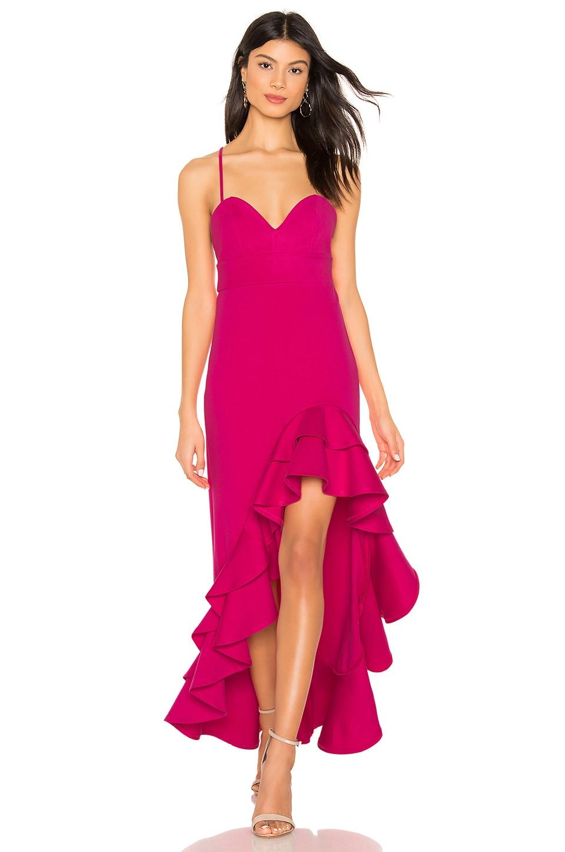 NBD Toryanne Gown in Fuchsia