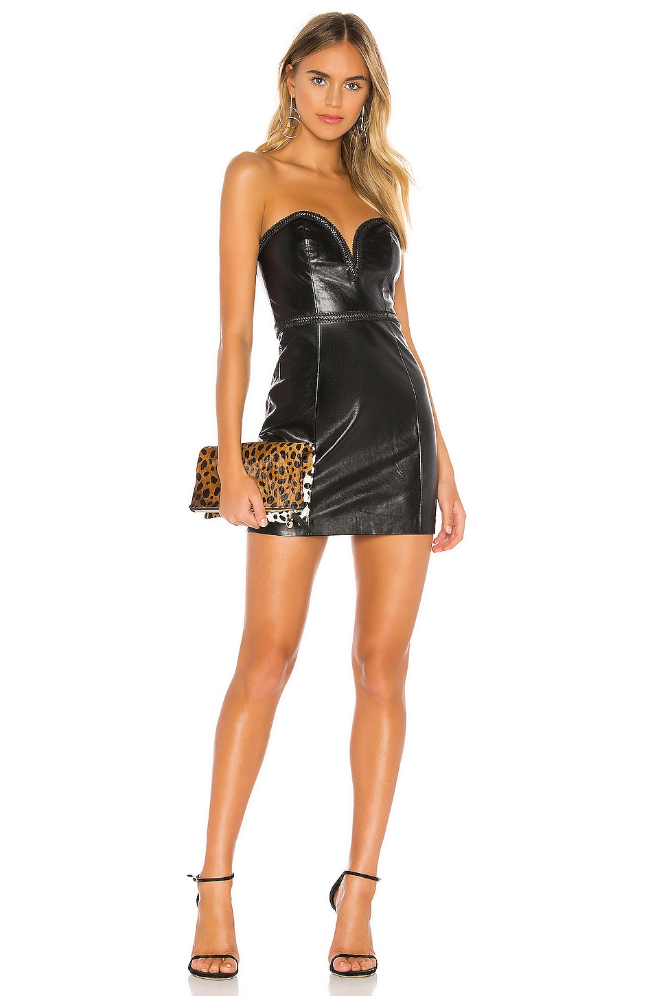NBD Kimberly Mini Dress in Black