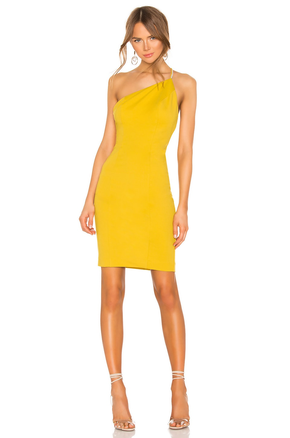 NBD Ciara Mini Dress in Saffron Yellow