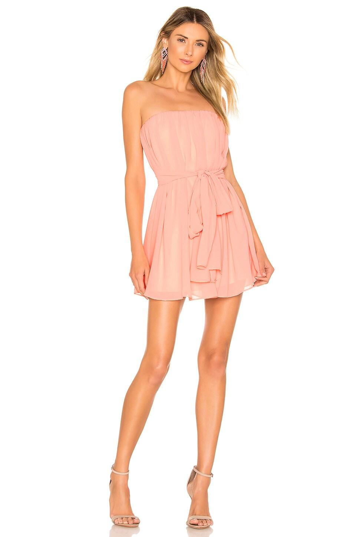 NBD Paradisco Mini Dress in Pastel Pink