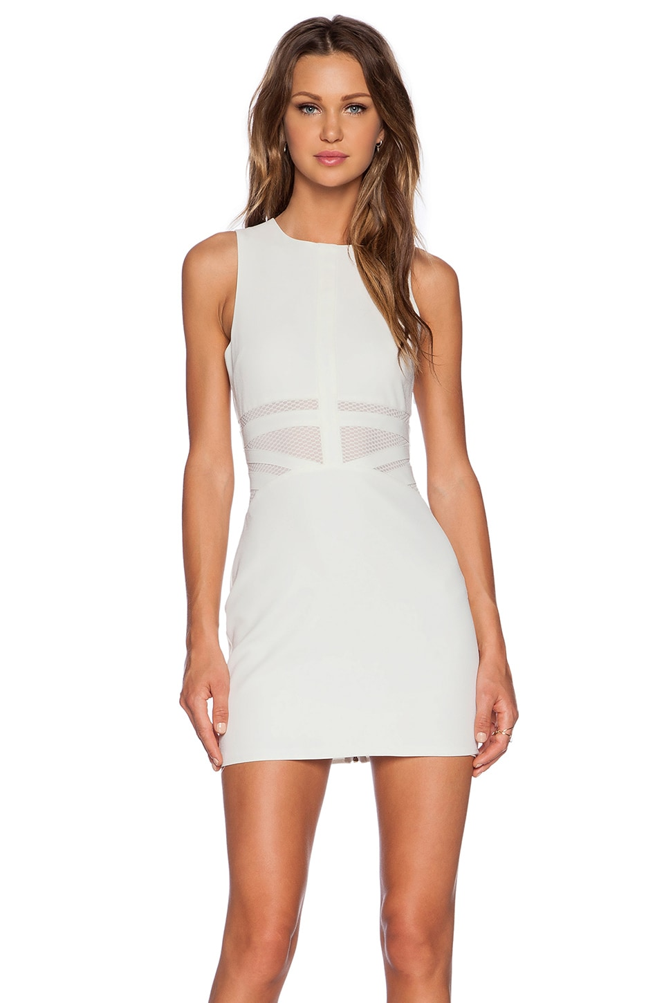 NBD x Naven Twins Penthouse Party Dress in White | REVOLVE