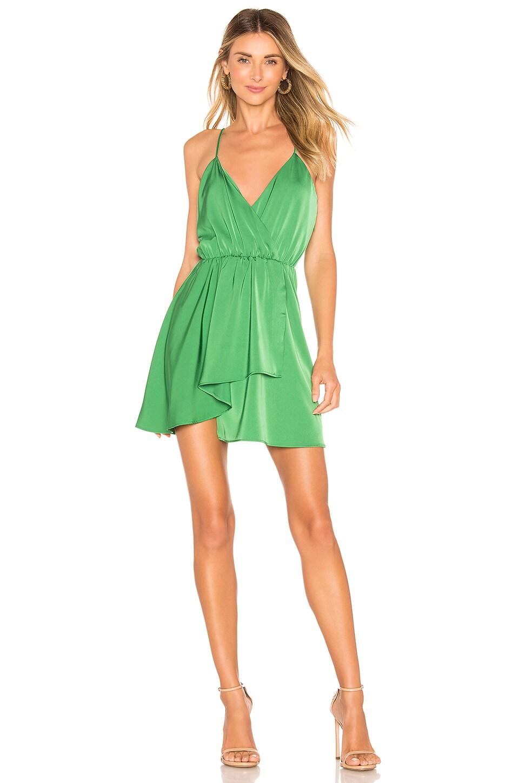 NBD Indigo Dress in Kelly Green