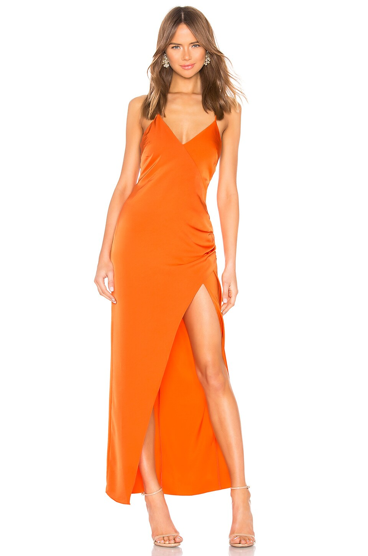 NBD Andela Gown in Orange