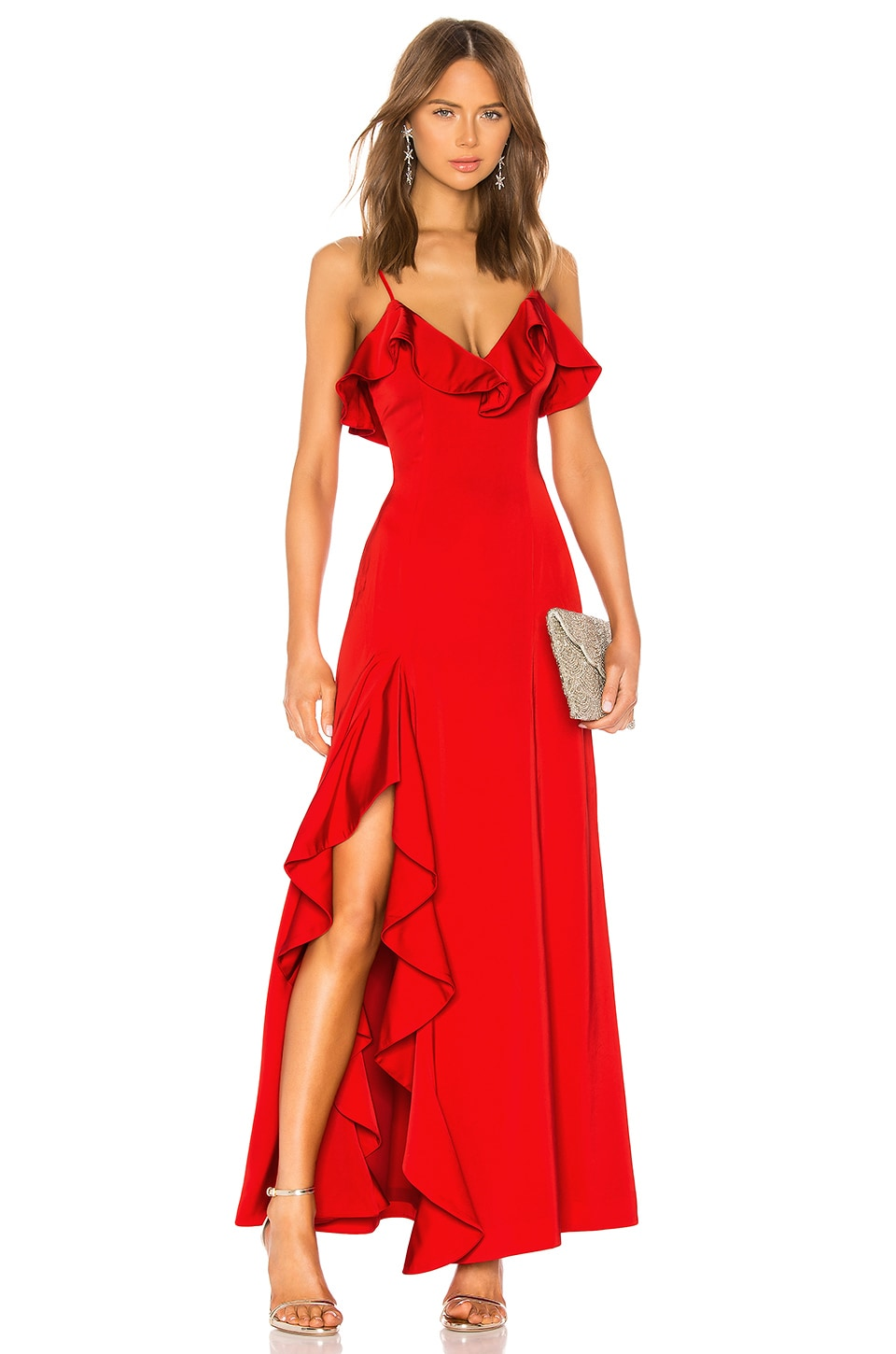 NBD Francine Gown in Red
