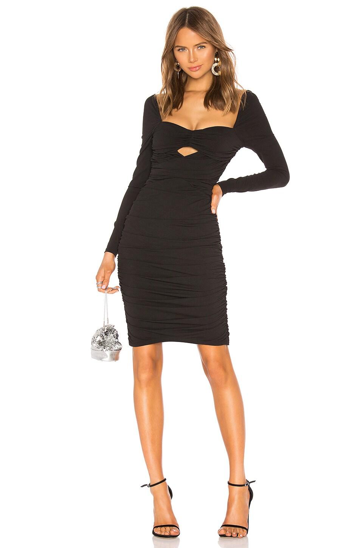 NBD Sinead Midi Dress in Black