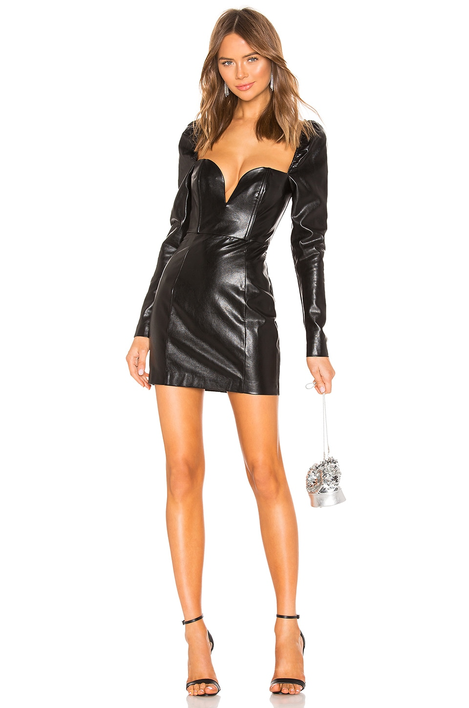 NBD Courtney Mini Dress in Black