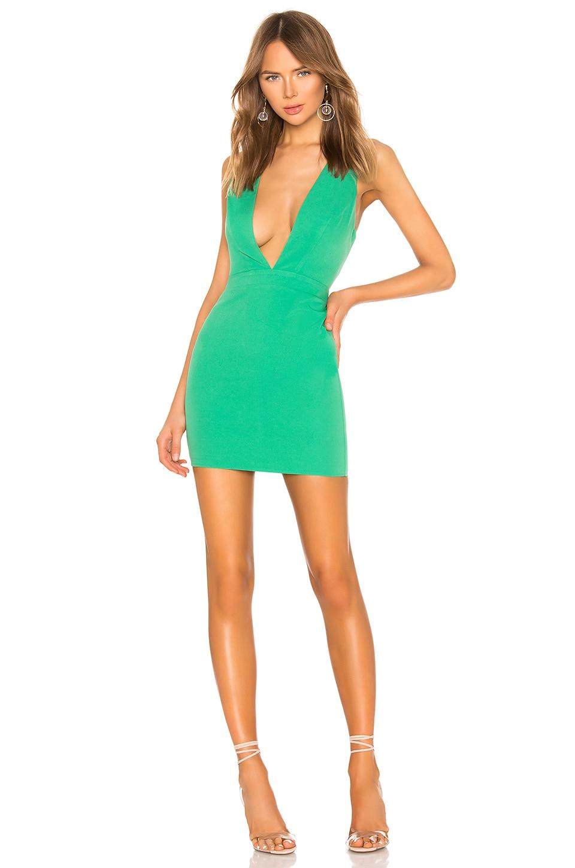 NBD x Naven Jamie Dress in Jelly Bean Green