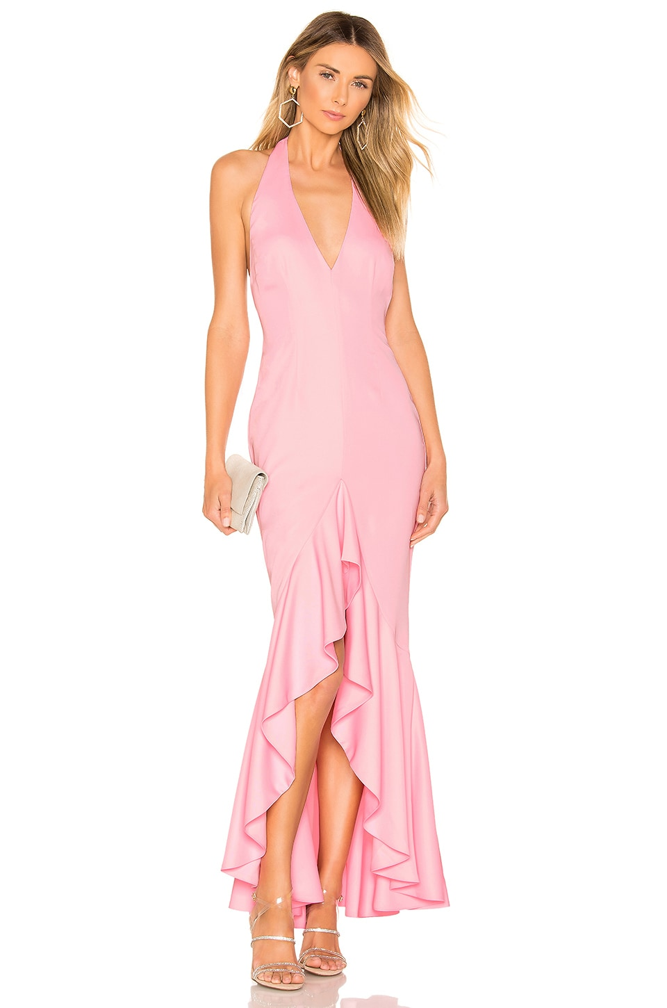 NBD Gwendolyn Gown in Pink
