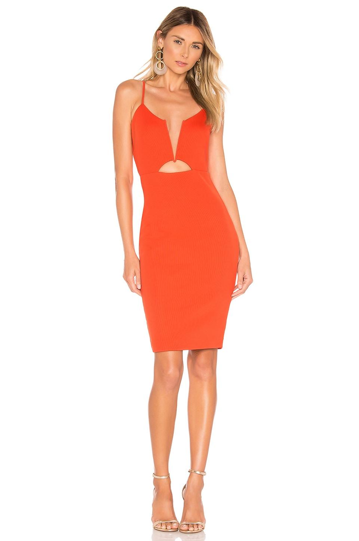NBD Totale Dress in Orange