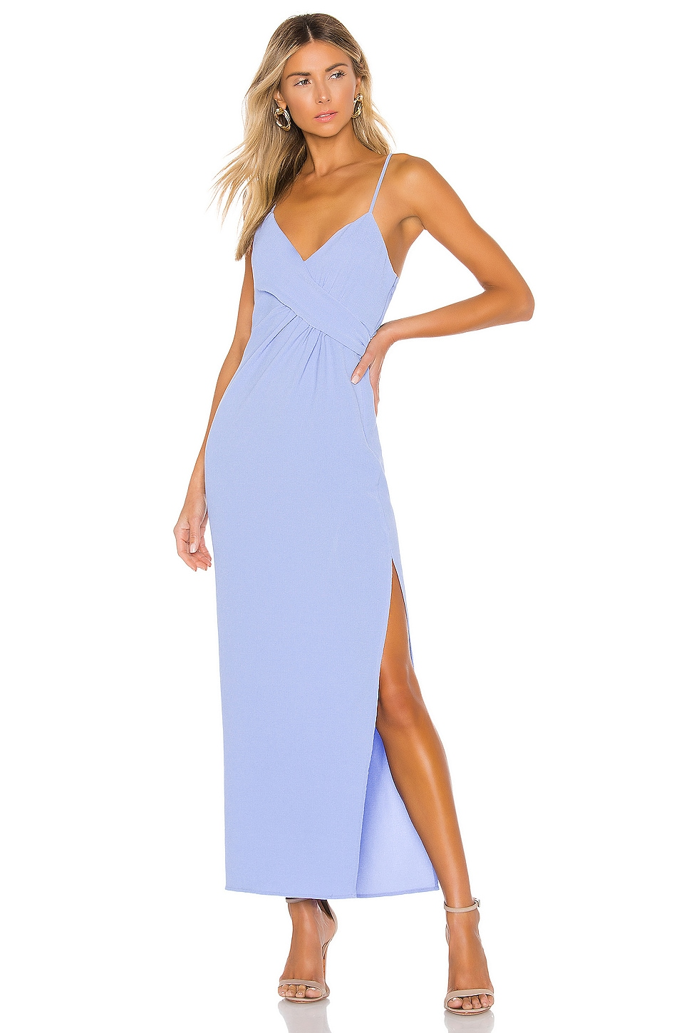 NBD Saanvi Gown in Periwinkle Blue