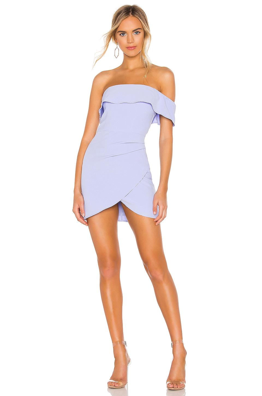NBD x Naven Lynn Dress in Pale Iris