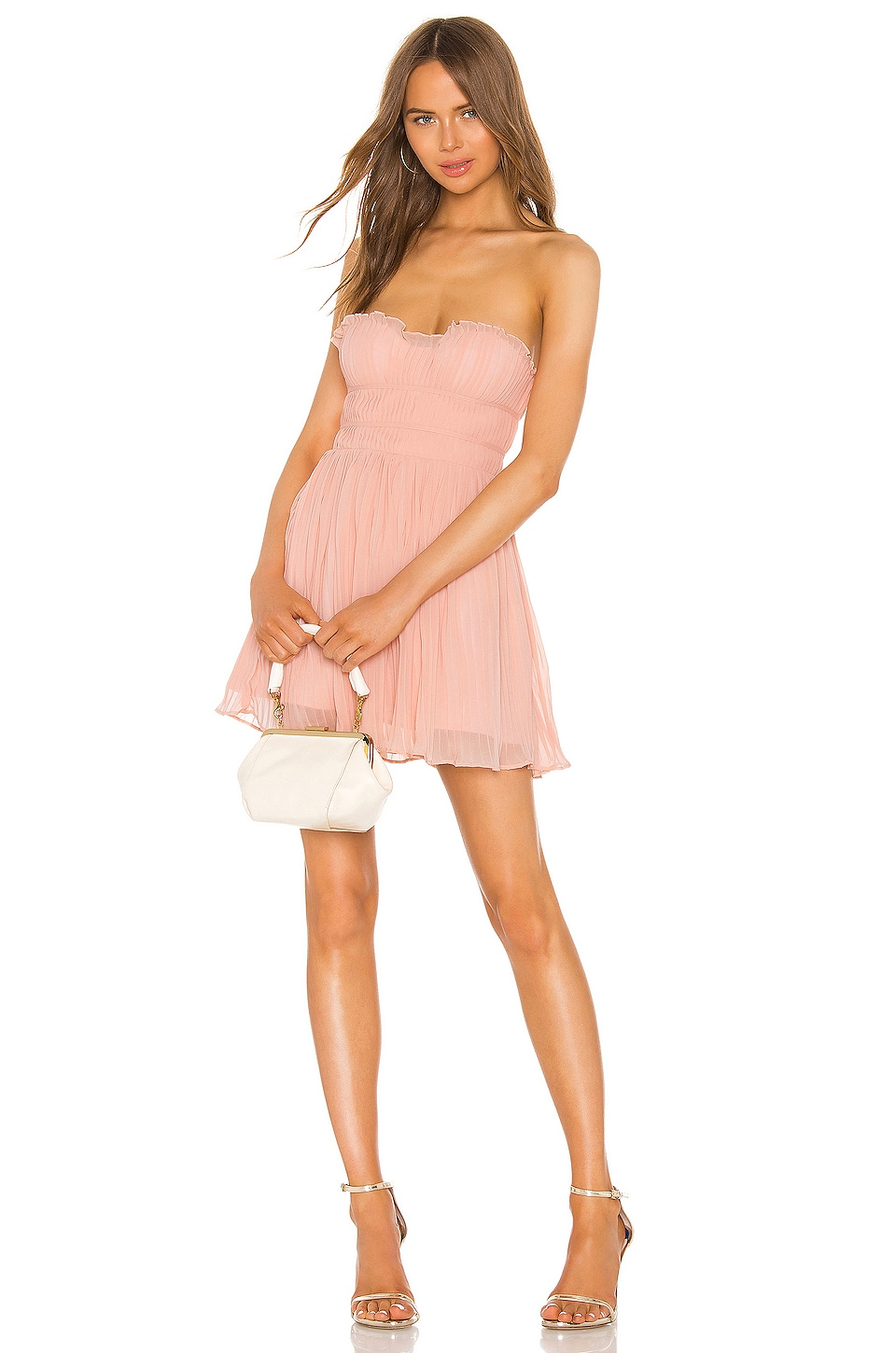 NBD Josephine Mini Dress in Blush Nude