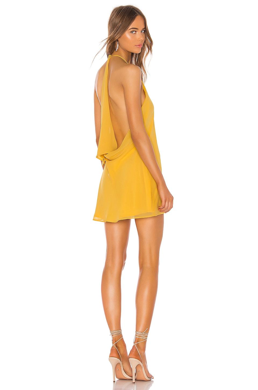 NBD Flora Dress in Pastel Yellow