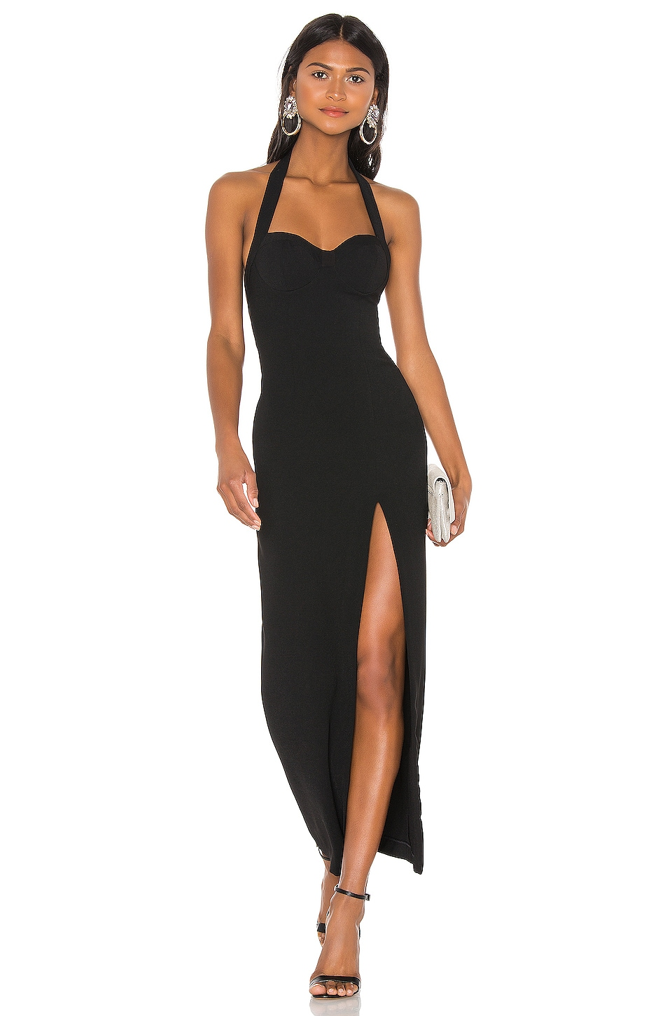 NBD Be Real Gown in Black