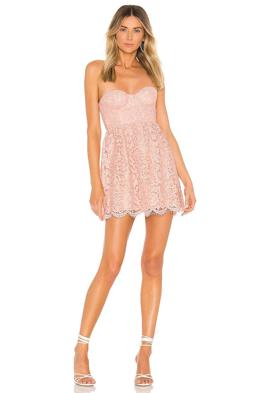NBD Juliette Mini Dress in Sorbet Pink
