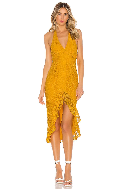 NBD x Naven Bryn Dress in Yellow