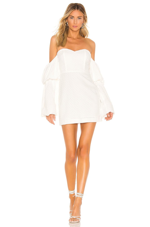 NBD Crane Dress in Star White