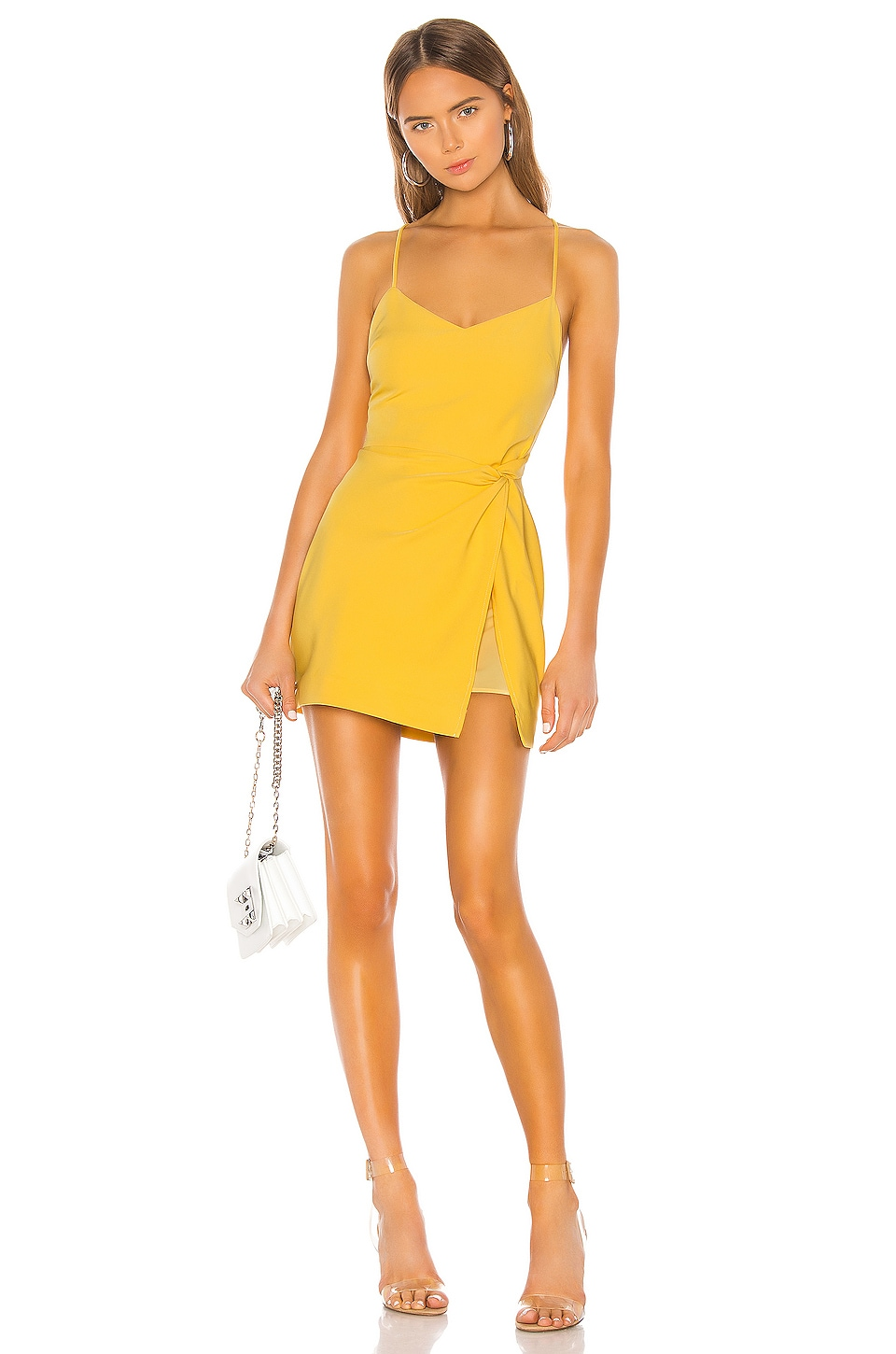 NBD Venice Blvd Dress in Yellow