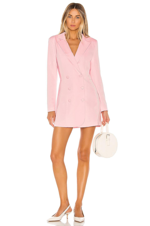 NBD x Naven Milo Dress in Lt Lotus Pink