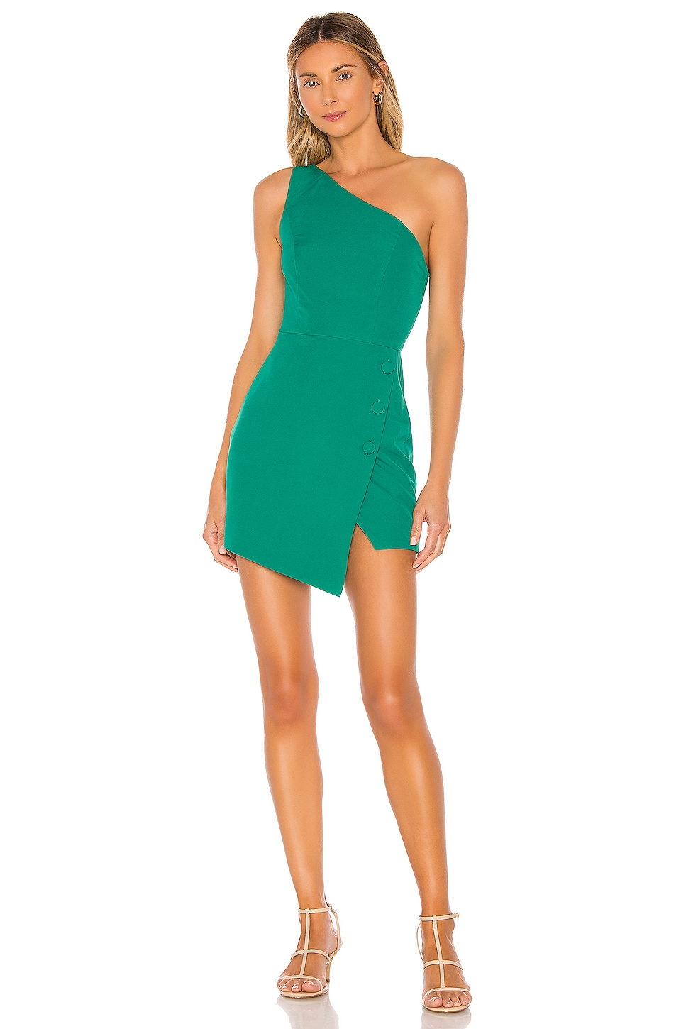 NBD Tere Mini Dress in Kelly Green