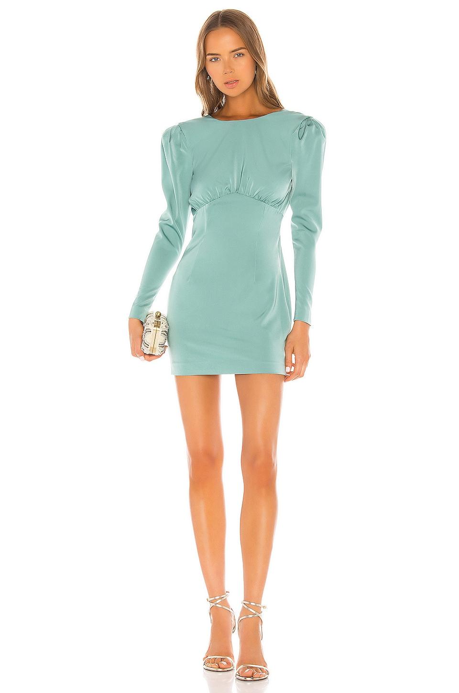 NBD Viva Mini Dress in Aquatic Blue