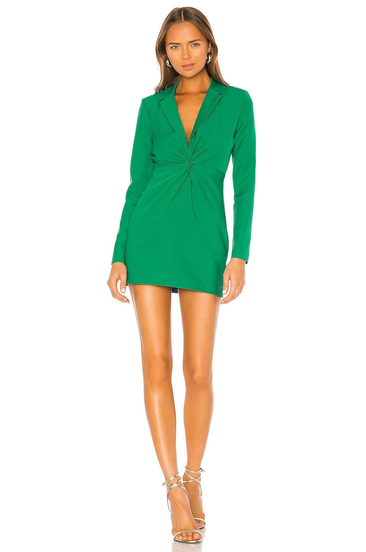 NBD Joelle Mini Dress in Kelly Green