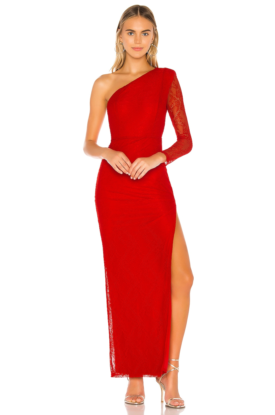 NBD Lathan Gown in Red