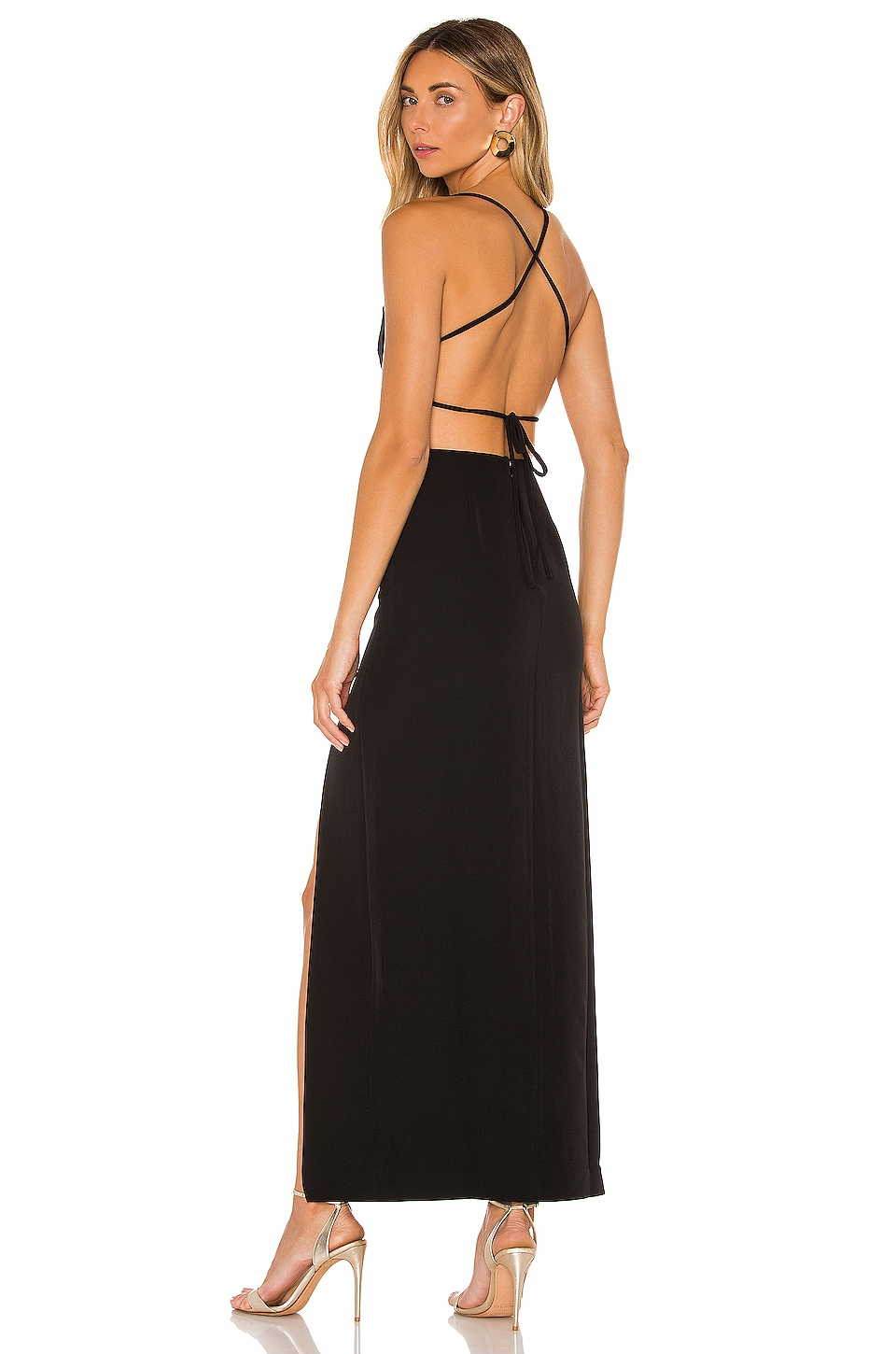 NBD Prosecco Gown in Black
